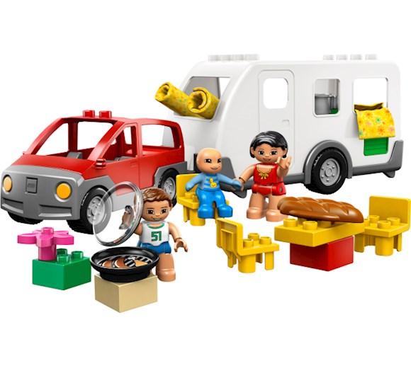Lego Duplo Przyczepa Kempingowa