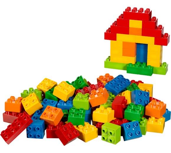 Lego Duplo Zestaw Podstawowy Duży