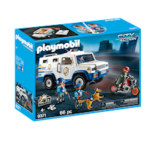 Playmobil City Action Transporter pieniędzy 9371