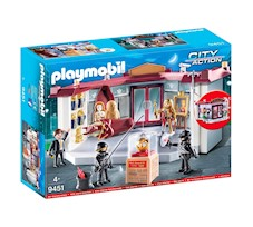 Playmobil City Action Napad na muzeum 9451