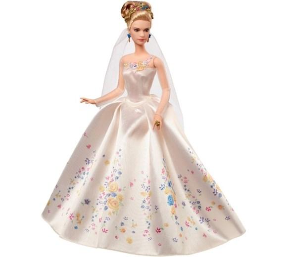 36761ae7c6 Mattel Lalka Kopciuszek w sukni ślubnej CGT55