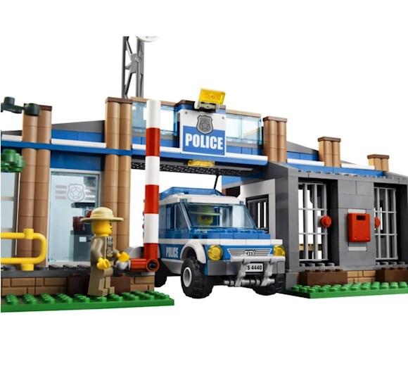 Lego City Leśny Posterunek Policji 4440