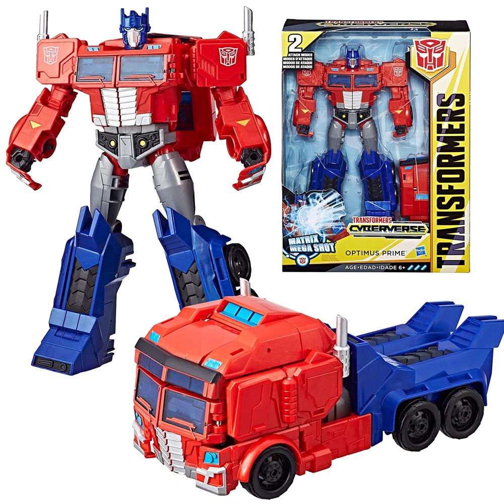 Hasbro Transformers Optimus Prime Ultimate Cyberverse E1885 E2067