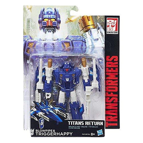 Hasbro Transformers Generations Deluxe Titans Return Blowpipe C0273