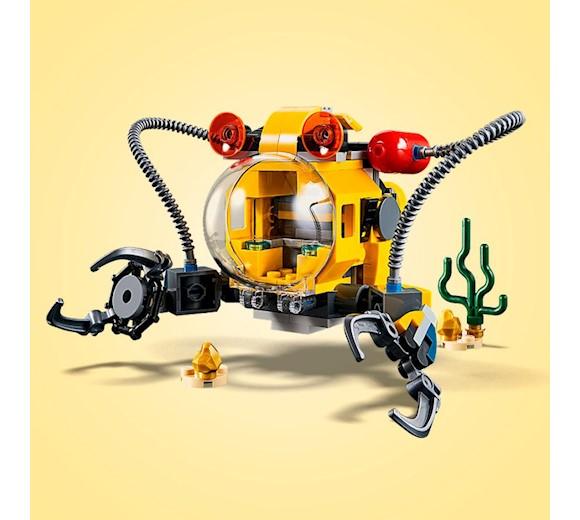 Lego Creator Podwodny Robot 3w1 31090