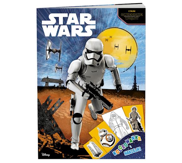 Lego Star Wars Książka Kolorowanka I Naklejki