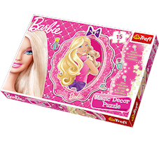 Puzzle Trefl Barbie Magic decor 15 el. 14604