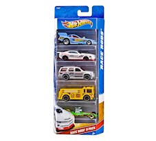 Hot Wheels 5-Pack W4256
