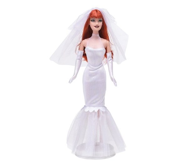 Barbie Mary Jane W Sukni ślubnej J0870