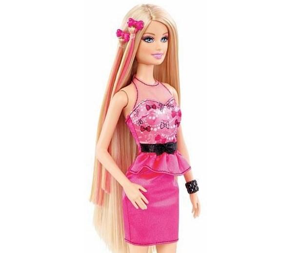 Barbie Bajeczne Fryzury Cbw36