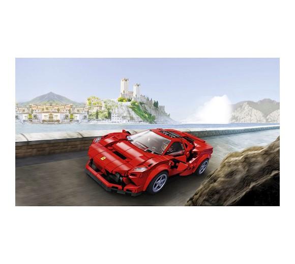 Ferrari F8 Tributo Imagined As A Spider: LEGO Speed Champions Ferrari F8 Tributo 76895