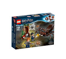 Lego Harry Potter Legowisko Aragoga 75950