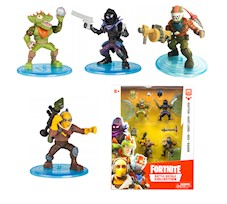 Fortnite Epic Games 4 Figurki Raptor, Rust, Rex, Raven 63508