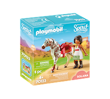 Playmobil Spirit Riding Free Solana przy woltyżerce 70123