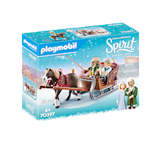 Playmobil Spirit Riding Free Zimowa jazda saniami 70397