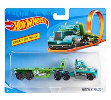 Hot Wheels Ciężarówka Hitch N' Haul BFM63
