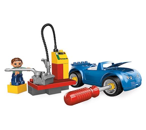 Lego Duplo Stacja Benzynowa