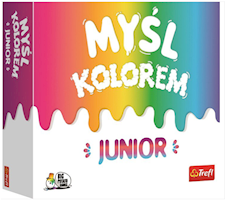 Trefl Gra Colour Brain myśl kolorem Junior 01763