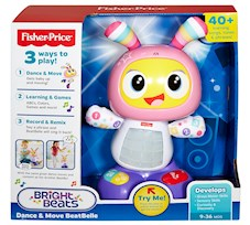 Fisher-Price Bebo Tańcz i śpiewaj Bella DYP09