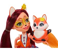 Lalka Enchantimals Felicity Fox + Lisek FXM71