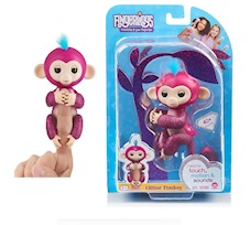 Fingerlings Baby Małpka Glitter Razz 3756