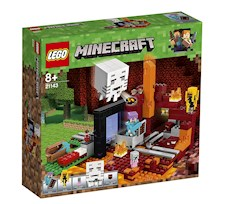 Lego Minecraft Portal do Netheru 21143
