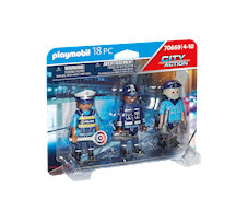 Playmobil City Action Zestaw figurek policjanci 70669