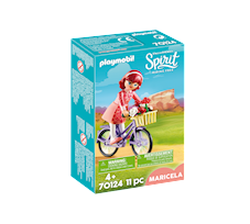 Playmobil Spirit Riding Free Maricela z rowerem 70124