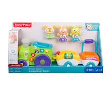 Fisher-Price Bebo interaktywny pociąg FXJ19