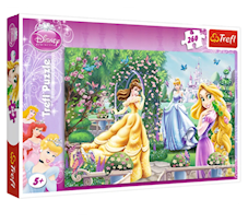 Trefl Puzzle 260 Disney Princess Spacer przed balem 13141