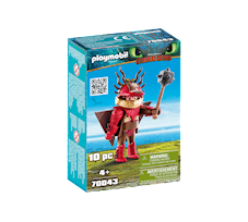 Playmobil Dragons Sączysmark w zbroi do latania 70043