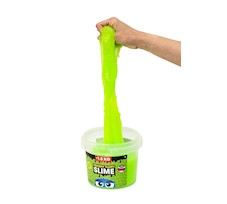 Slime Gluty Squishy Fluffy  zielony 1,5 kg