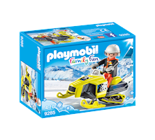 Playmobil Family Fun Skuter śnieżny 9285