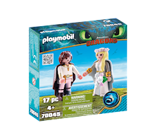 Playmobil Dragons Astrid i Hiccup 70045