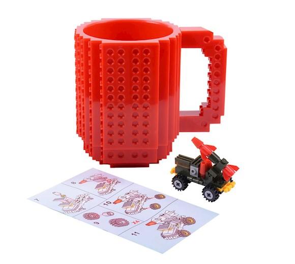 Kubek Konstruktora Lego Czerwony